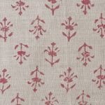 Indian Red Moonflower Linen – 335
