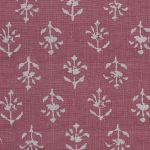 Indian Red Reverse Moonflower Linen – 355