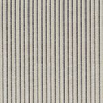 Charcoal Dimity Stripe Cotton – 278