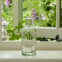Reeded Flower Bottle