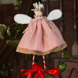 Christmas Fairy - Red Piping Stripe