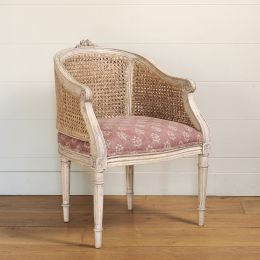 Small Caned Arun Chair