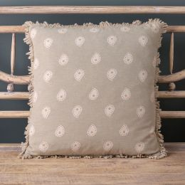 Mika Cushion Dove Grey