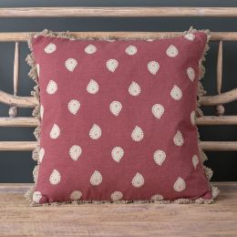 Sail Red Mika Cushion