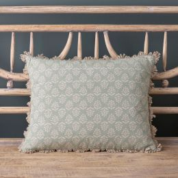 Duck Egg Sprig Cushion