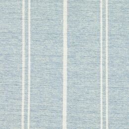 Small Sample of True Blue Ivory Vintage Stripe