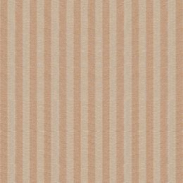 Saffron Natural Stripe Cotton - 248
