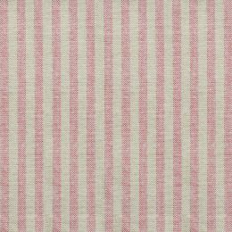 Rusty Rose Natural Stripe Cotton – Double Width - 271