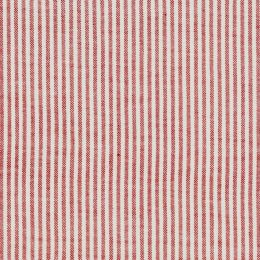 Red Piping Stripe Cotton – A20