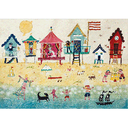 Card - Beach Huts Card