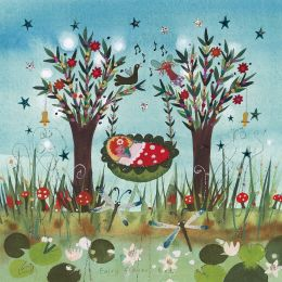 Fairy Flowerbed Card