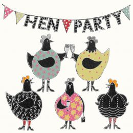 Hen Party Card