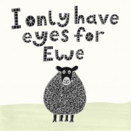 Eyes for Ewe Card