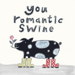 Card - Romantic Swine