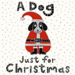 Christmas Card - Dog for Christmas (Small, pack of 6)