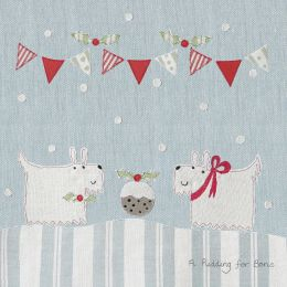 Christmas Card - A Pudding for Boris (Small, pack of 6)