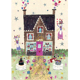 Magic Cake Shop Print