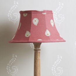 "Rose Mika 12"" Framed Lampshade"