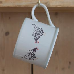 Black Hen Straight Mug