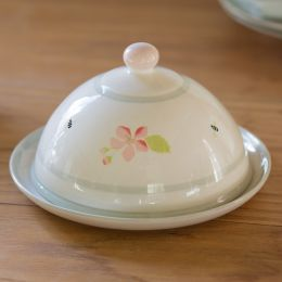 Apple Blossom Small Butterdish (Ceramics)
