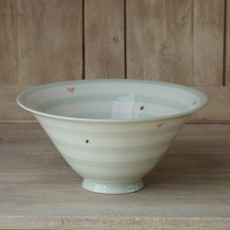 Honey Bees Small Salad Bowl