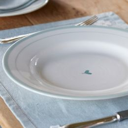 Simply Blue Oscar Dinner Plate