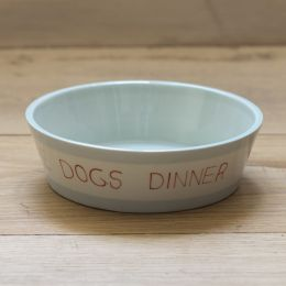 Dog's Dinner Small Dog Bowl