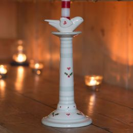 Bird Candlestick - Christmas