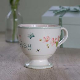 Personalised Apple Blossom Large Mug