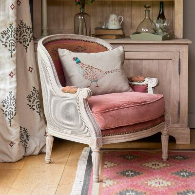Low French Armchair
