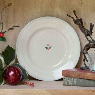 Christmas Holly Side Plate
