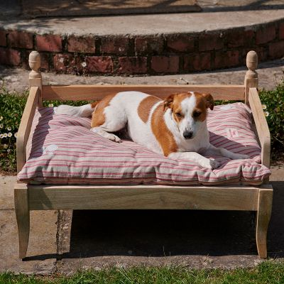 Rusty Rose Stripe Dog Bed Mattress