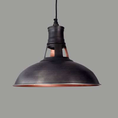 Dark Bronze Metal Pendant Lamp