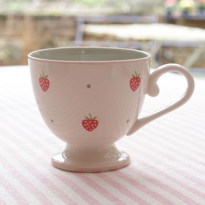 Personalised Strawberry Large Mug