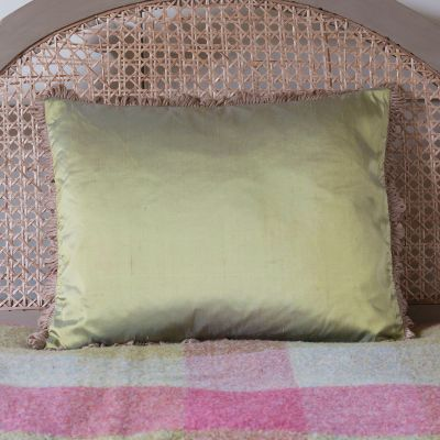 Silk Cushion - Catkin