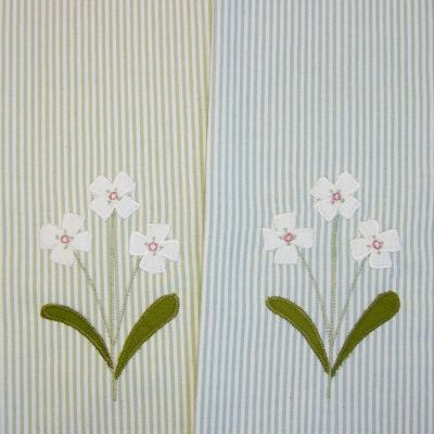 Flower Tea Towel (pack of 2)