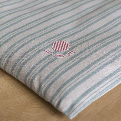 Sail Blue Stripe Dog Bed Mattress