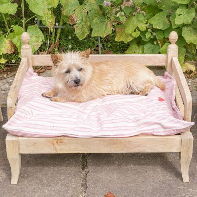 Rose Stripe Dog bed Mattress