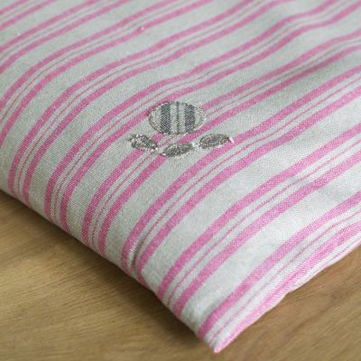 Dog Bed Mattress Cover Only - Rose Stripe