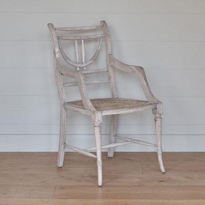 Caned Carver Chair