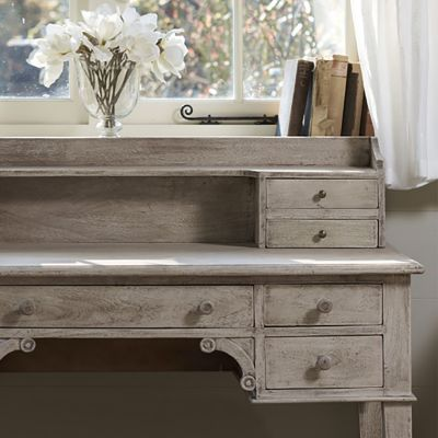 Seconds Large Gustavian Desk with top