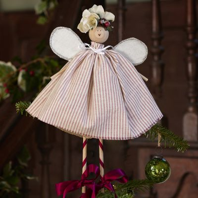 Christmas Fairy - Violet Piping Stripe