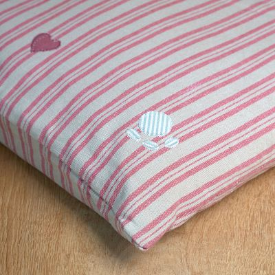 Dog bed Mattress Cover Only - Rusty Rose