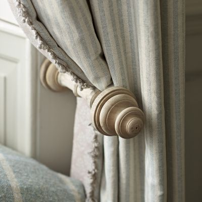 Wooden Curtain Holdback