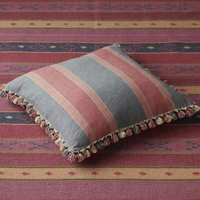 Jodhpur Stripe Cotton Floor Cushion 58 x 58cm