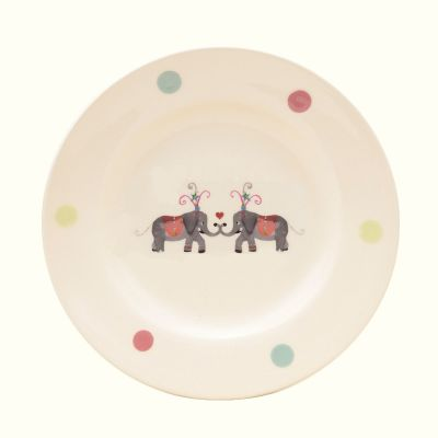 Lucy Art Animal Carnival Side Plate