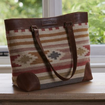 Saffron Red Large Kilim Bag
