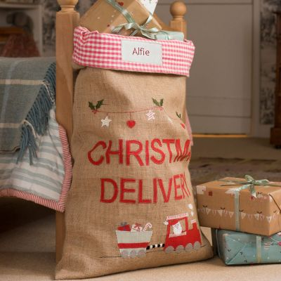 Christmas Train Sack
