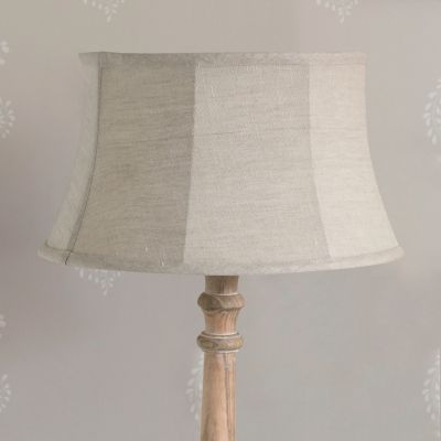 Plain Framed Linen Lampshade