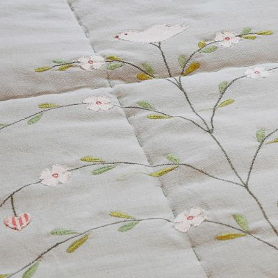 Duck Egg Butterfly Tree Cotton Quilt – Super King